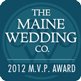 Maine Wedding Company MVP Award